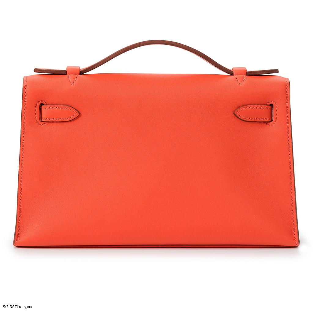 Hermès Kelly Mini Capucine Swift Palladium Hardware